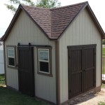 10′ x 12′ Ranch Shed , 3rd Peak