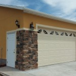 30′ x 40′ Garage 10′ Walls, Stucco / Rock Exterior