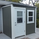 6′ x 4′ Custom Lean To Shed