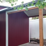 8′ x 10′ Ranch Shed , 8′ Extension
