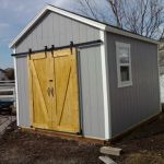 """10′ X 14′ RANCH 8′ WALLS ( 6"""" BOXED IN OVERHANG AROUND )"""