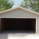 20′ X 24′ GARAGE 8′ WALLS ( 16′ X 7′ GARAGE DOOR OPENING )