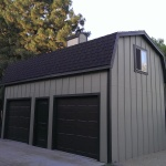 25′ x 13.5′ Barn Style Shed 10′ Walls