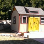 10′ x 14′ Ranch Shed , 8/12 Pitch