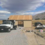 Start Of A 24′ x 30′ Garage 10′ Walls
