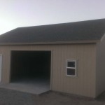 24′ x 30′ Garage 10′ Walls , 6/12 Roof Pitch