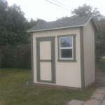 8′ x 6′ Chicken Coop Shed