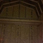 Inside Barn  Style Shed 10′ Walls
