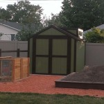 8′ x 8′ Ranch Style Shed 6′ Walls