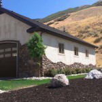 30′ x 60′ Garage Stucco Exterior