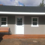 10′ x 20′ Ranch Style Shed 8′ Walls , 4′ x 10′ Porch & Roof Extension
