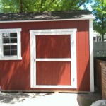 8′ x 12′ Ranch Style Shed 8′ Walls , 4 1/2 Shed Door, 2′ x 3′ Window
