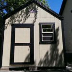 10′ Wall Gable End / 3′ Shed Door / 2′ x 3′ Window