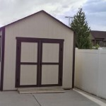 10′ x 14′ Ranch Style Shed With 6′ Double Doors With 6′ Ramp