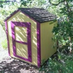 6′ x 6′ Playhouse With 4′ walls