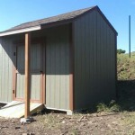 8′ x 10′ Ranch Style Shed With 4′ Lean To Roof Extension
