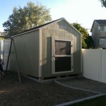 8′ x  12′ Ranch Style Shed 4″ Standard Overhang All Around