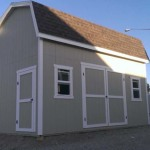 10′ x 20′ Barn Style Shed 10′ Walls