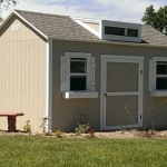 10′ x 12′ Ranch Style Shed 8′ Walls
