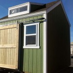 10′ x 10′ Ranch Style Shed With 4 1/2′ Sliding Barn Door