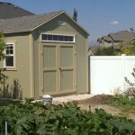 10′ x 12′ Ranch Style Shed With 6″ Boxed In Overhang All Around