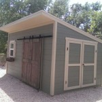 10′ x 16′ Lean To Style Shed