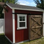 8′ x 10′ Ranch Style Shed With 8′ Walls (2×8 Beam Decoration)