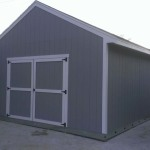 14′ x 20′ Shed With 8′ Double Doors