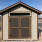 12′ x 12′ Ranch Style Shed With 1′ Overhang All Around