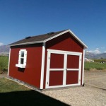 8′ x 14′ Ranch Style Shed With 8′ Double Doors