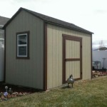 8′ x 12′ Ranch Style Shed With 8′ Walls