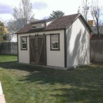 10′ x 16′ Ranch Style Shed With Steeper 8/12 Roof Pitch