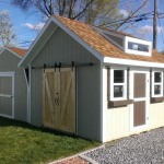 10′ x 14′ Ranch Style Shed With Dormer