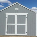 14′ x 14′ Shed With 8′ Walls