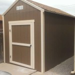 8′ x 12′ Ranch Style Shed With 8′ Walls (With Free 4 1/2′ Shed Door)