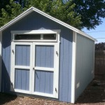 10′ x 16′ Ranch Style Shed (6′ Transom Window Over Door)