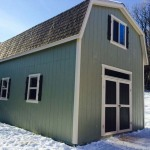 16′ x 20′ Barn With 10′ Walls