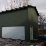 20′ x 20′ Garage With 16′ x 7′ Door
