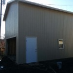 20′ x 24′ Garage With 16′ Walls