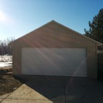 20′ x 24′ Garage With 16′ x 9′ Garage Door