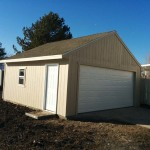 20′ x 24′ Garage With 10′ Walls