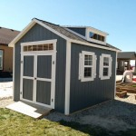 10′ X 12′ RANCH STYLE SHED 8′ WALLS ( WITH DORMER)