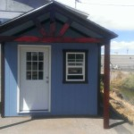 10′ X 8′ RANCH SHED 8′ WALL ( 10′ X 4′ ROOF EXTENSION )
