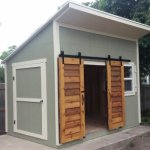 10′ X 8′ CUSTOM LEAN TO SHED WITH 2′ OVERHANG