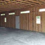 INSIDE 20′ X 40′ GARAGE ( 1′ X 6′ TRANSOM WINDOWS )