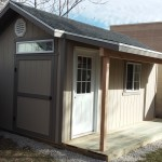 10′ X 16′ RANCH SHED W/ COVERED PORCH EXTENSION