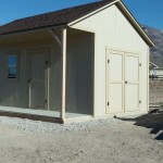 10′ X 16′ SHED W/ PORCH & DECK