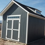 12′ X 16′ RANCH SHED 10′ WALLS , 8/12 PITCH