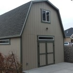 16′ X 31′ BARN GARAGE 8′ WALLS ( FULL SIZE LOFT )