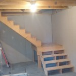 FIXED STAIR SYSTEM INSIDE 16′ X 31′ BARN